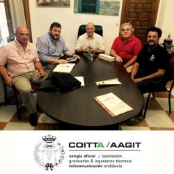 Presentación de la Red a la Diputación de Córdoba